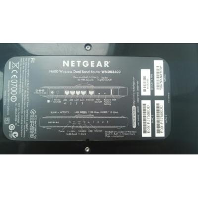 Роутер NETGEAR WNDR3400 N600