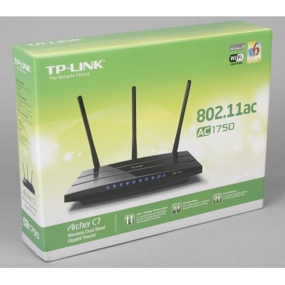 Маршрутизатор TP-LINK Archer C7 Dual Band Wireless 802.11AC роутер